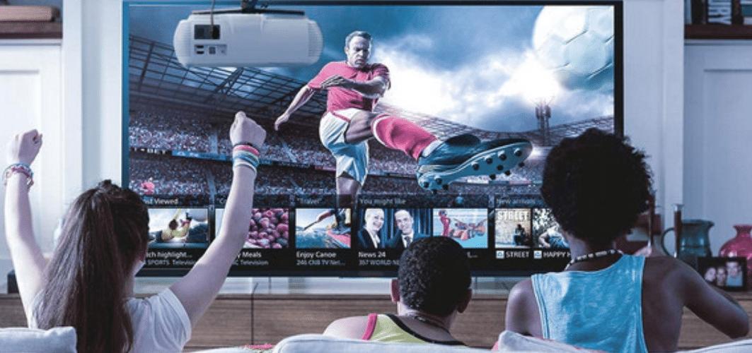 Avantages du vidéoprojecteur par rapport à la télévision