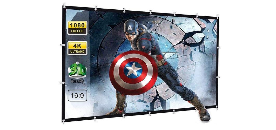 Savoir quelle taille d'écran de projection choisir